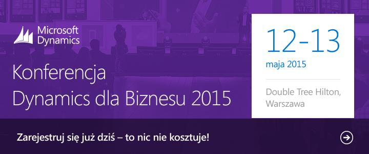 Konferencja Dynamics dla Biznesu 2015